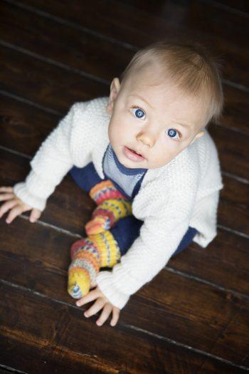 baby uld sokker